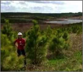 Lignite Mine Eco-Restoration – Big Brown Station – Texas Utilities  Texas Utilities had a history of restoring lignite mine land in East Texas to high quality pasture.  This project at Big Brown Generation Station studied the value-add of replanting pine forests for carbon sequestration, developing wetlands and stream-side nutrient buffers as compensatory mitigation, and reintroducing rare species native to eastern Texas.  Results demonstrated high eco-value opportunities in every category helping TXU diversify land use practices.
